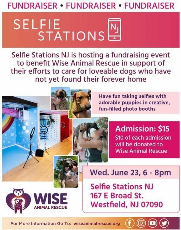 Selfie Station Fundraiser